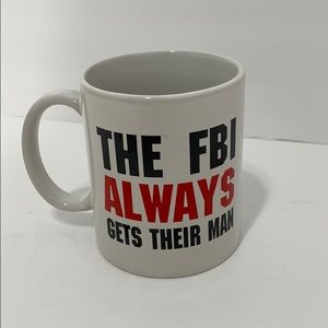 The FBI Always Gets Their Man Mug